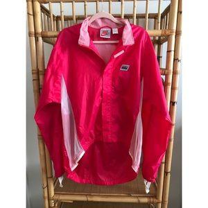 Vintage pink Nike windbreaker / windrunner -  L